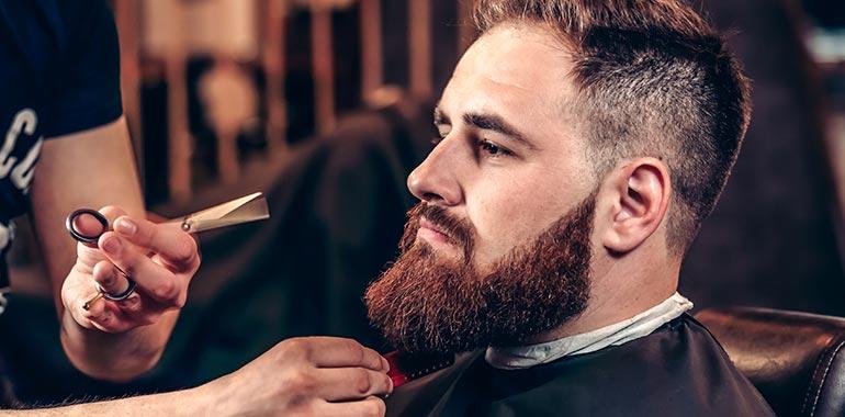 Refreshing trim of your Beard grow grip